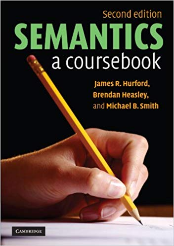 Semantics a Coursebook 2nd
