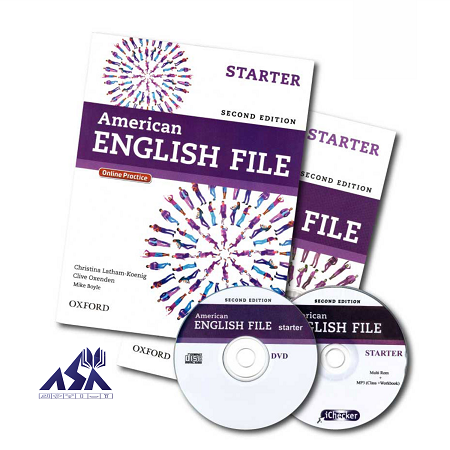American English File Starter 2nd