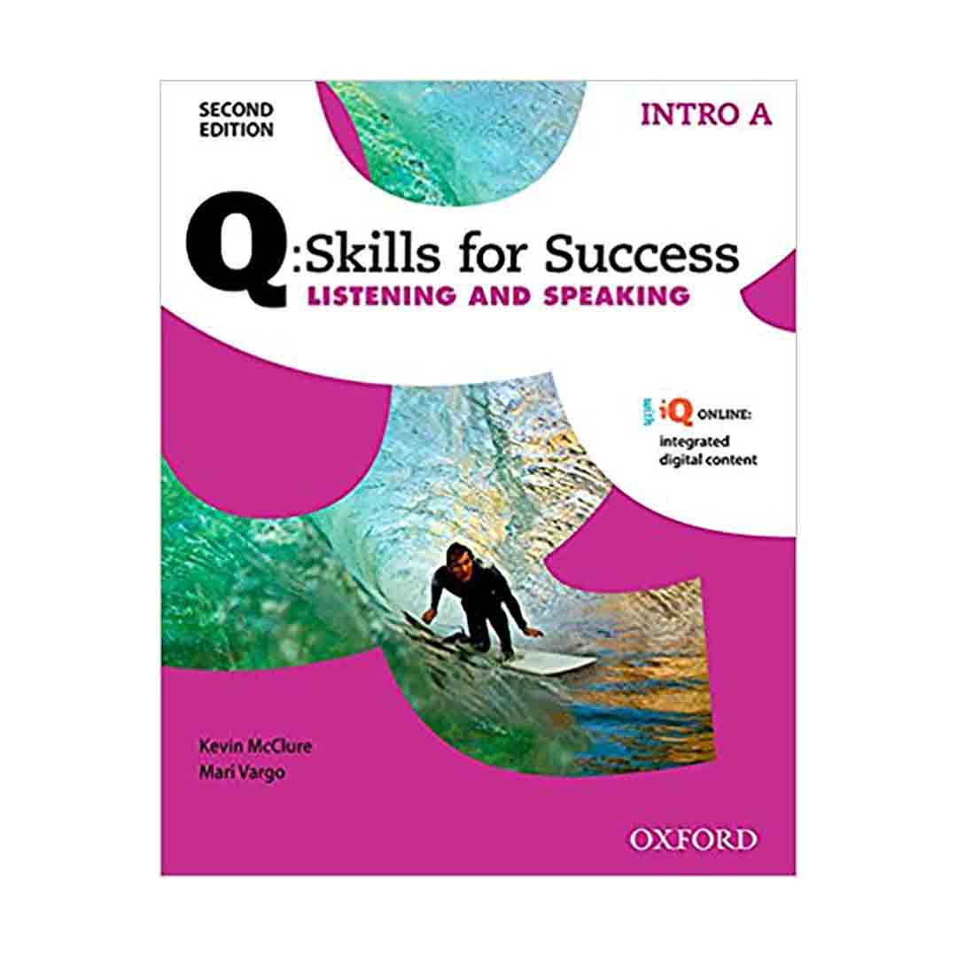 Q Skills for Success 2nd Intro Listening and Speaking+CD