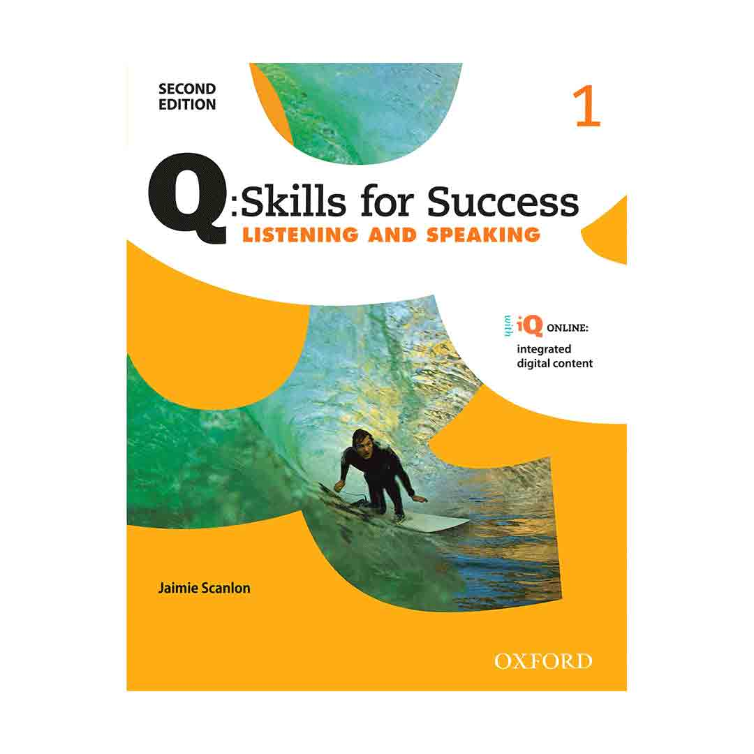 Q Skills for Success 1 2nd  Listening and Speaking+CD
