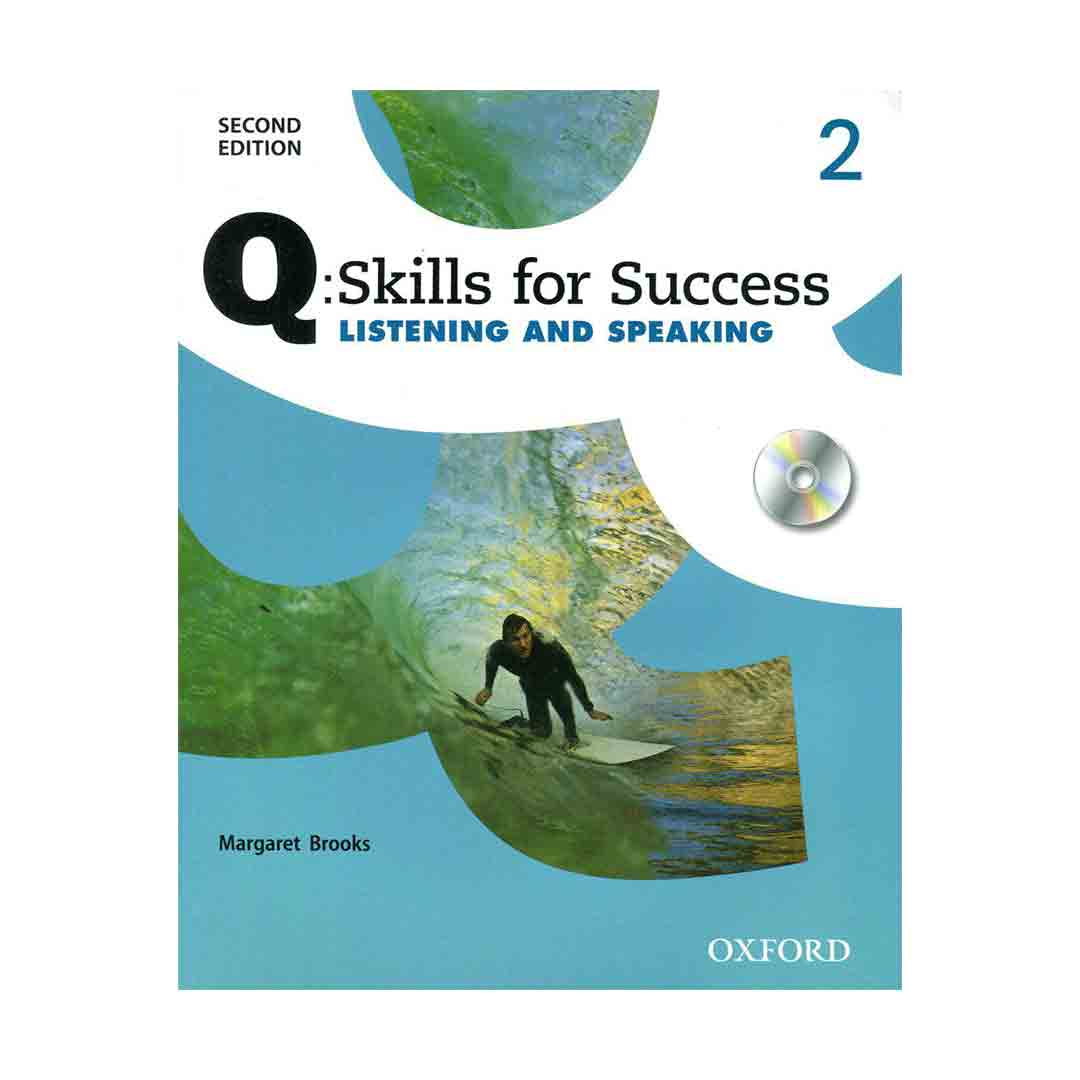 Q Skills for Success 2 2nd  Listening and Speaking+CD