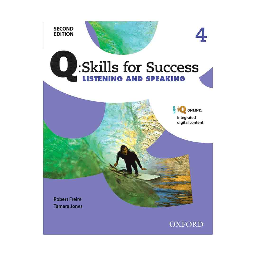 Q Skills for Success 4 2nd  Listening and Speaking+CD
