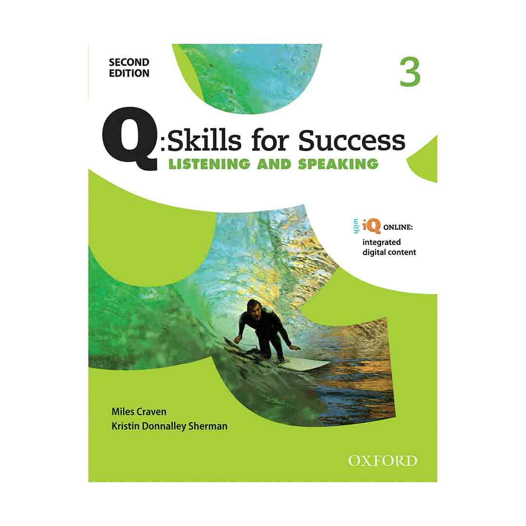 Q Skills for Success 3 2nd  Listening and Speaking+CD