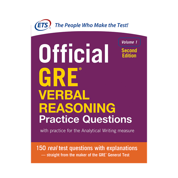 Official GRE Verbal Reasoning Practice Questions 2nd