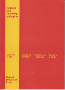 Reading and Thinking in English: Concepts in use