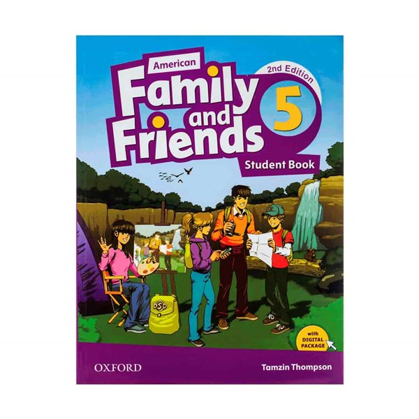 American Family and Friends 2nd 5 SB+WB+CD+DVD