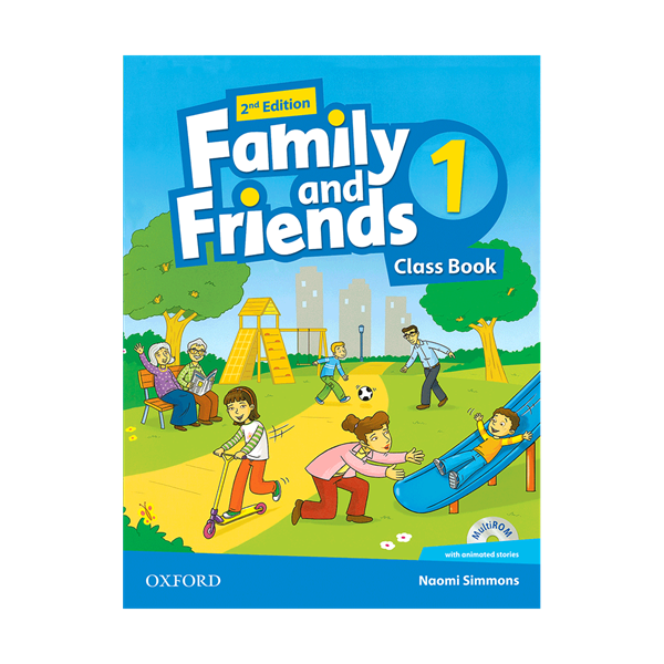 Family and Friends 2nd 1 SB+WB+DVD - Glossy Papers