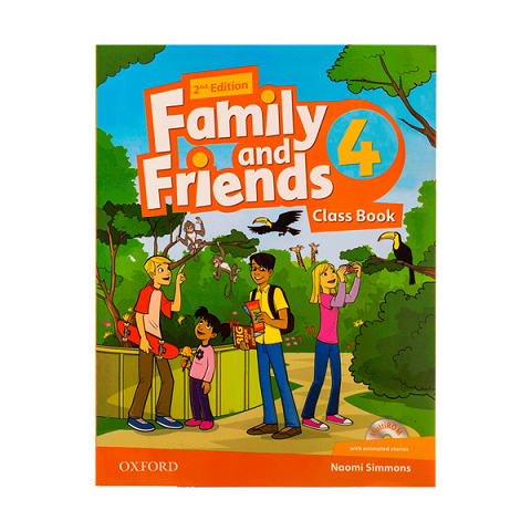 Family and Friends 2nd 4 SB+WB+DVD - Glossy Papers