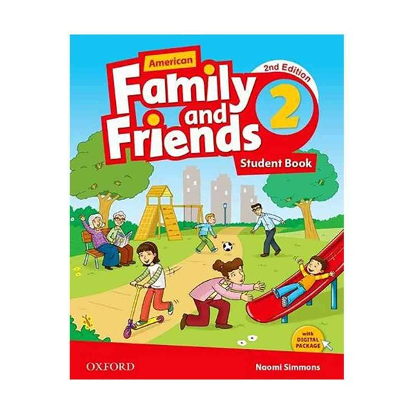 American Family and Friends 2nd 2 SB+WB+CD+DVD