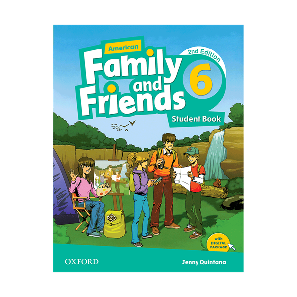 American Family and Friends 2nd 6 S+W+CD+DVD