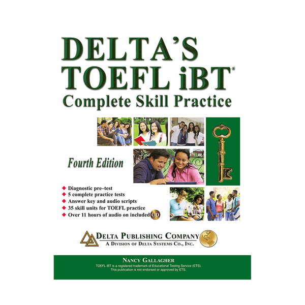 Deltas Key to the TOEFL iBT 4th+CD