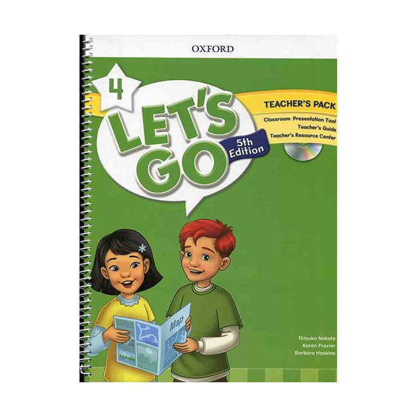 Lets Go 4 5th Teachers Pack + DVD