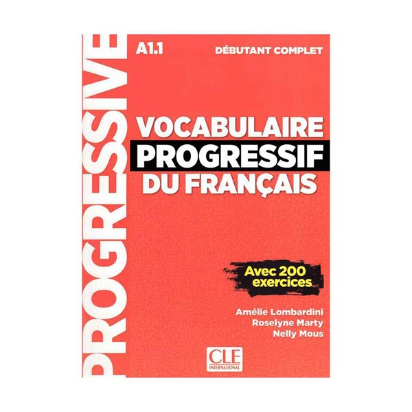 Vocabulaire Progressif Du Francais A1-1 - Debutant Complet +CD