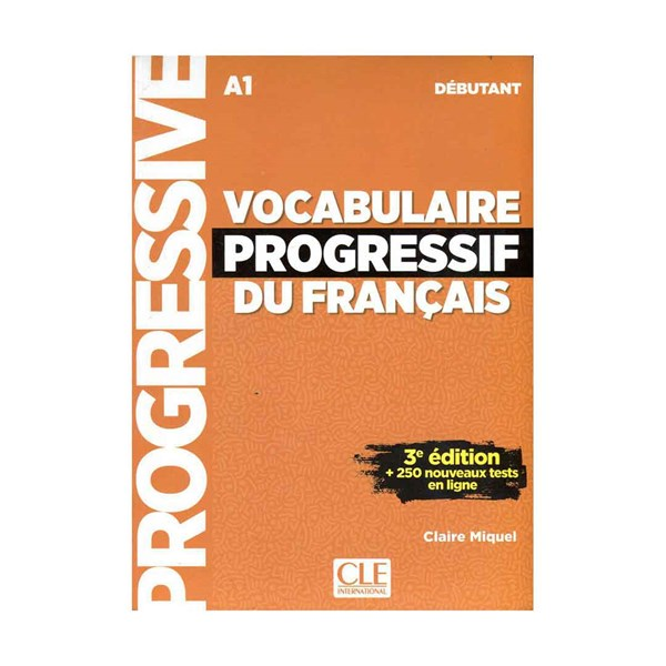 Vocabulaire Progressif Du Francais A1 - Debutant - 3rd +CD