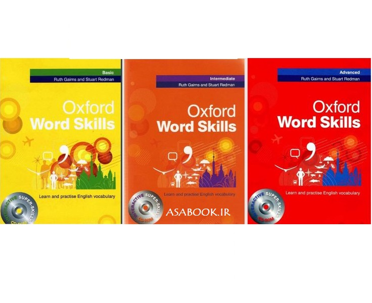 Oxford Word Skills + cd (رحلی)  پک کامل