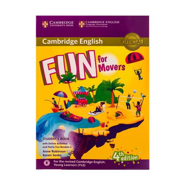 Fun for Movers Students Book 4th+ Home Fun Booklet 4+CD