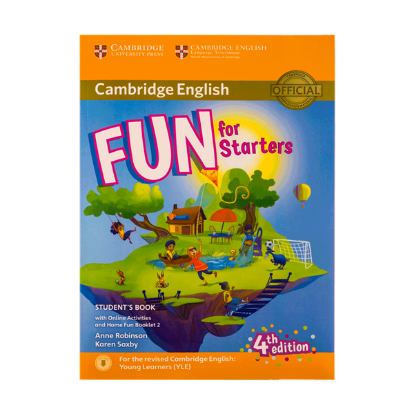 Fun for Starters Students Book 4th+Home Fun Booklet 2+CD