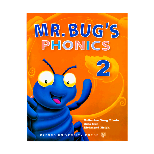 Mr Bugs Phonics 2 Student Books
