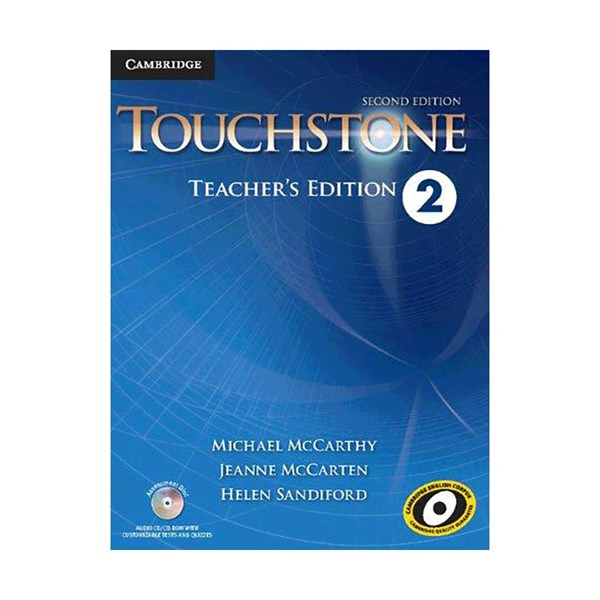 Touchstone 2 2nd  Teachers book