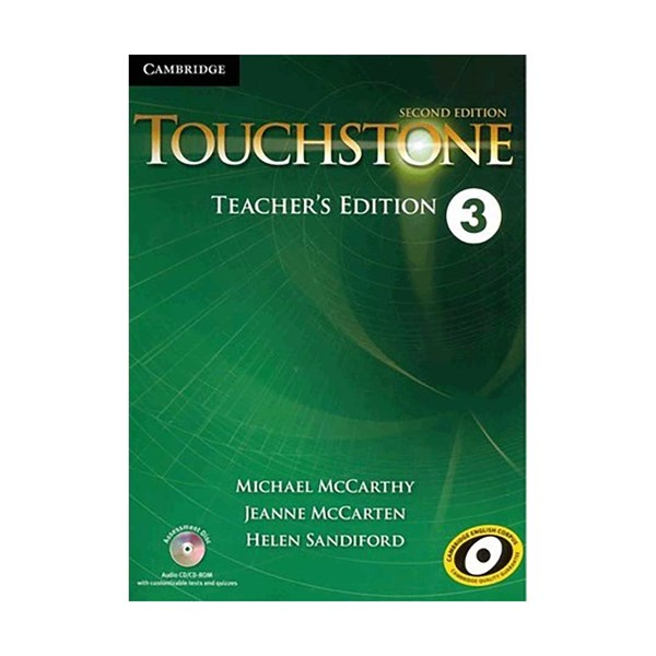 Touchstone 3 2nd  Teachers book