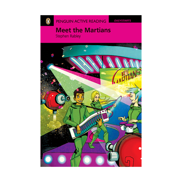 Penguin Active Reading Easy Start  Meet the Martians