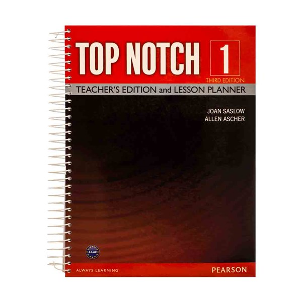 Top Notch  1 3rd Teachers book+DVD