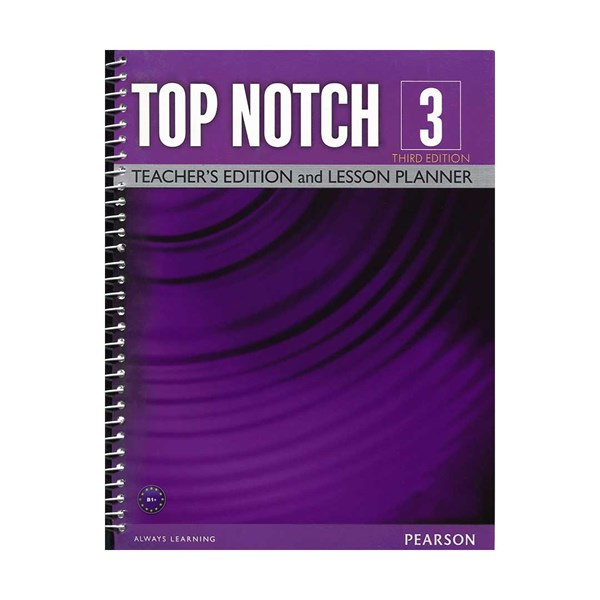 Top Notch 3 3rd Teachers Book +DVD