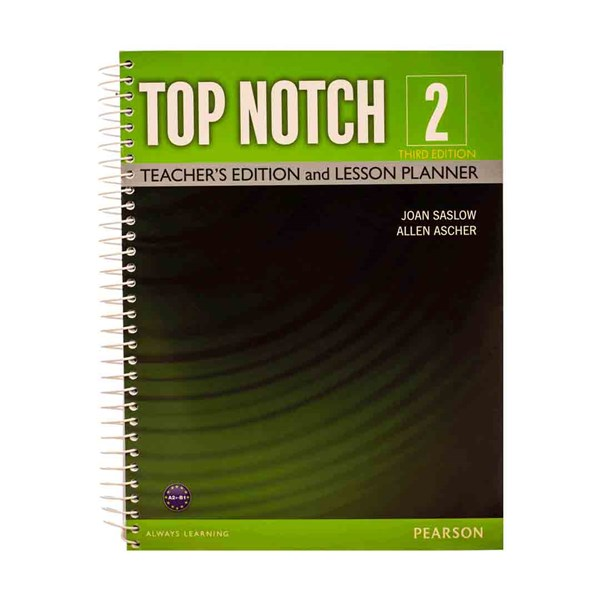Top Notch  2 3rd Teachers book+DVD