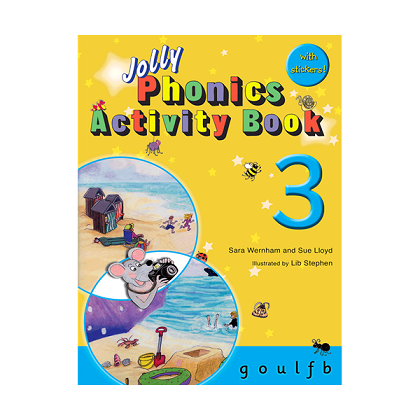 Jolly Phonics 3 Activity Book