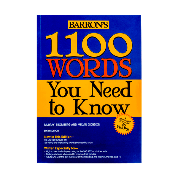 1100Words you Need to know  6th
